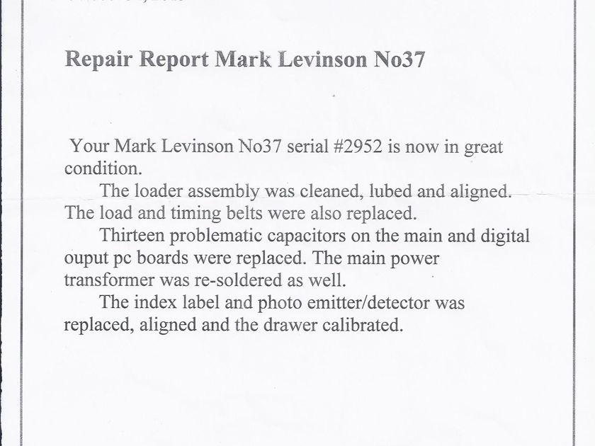 Levinson #37 digital transport