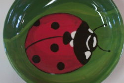 mal werk kindergeburtstag marinkäfer keramik schüssel