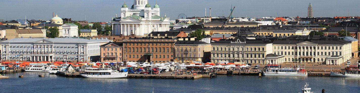 Пешком по центру Хельсинки