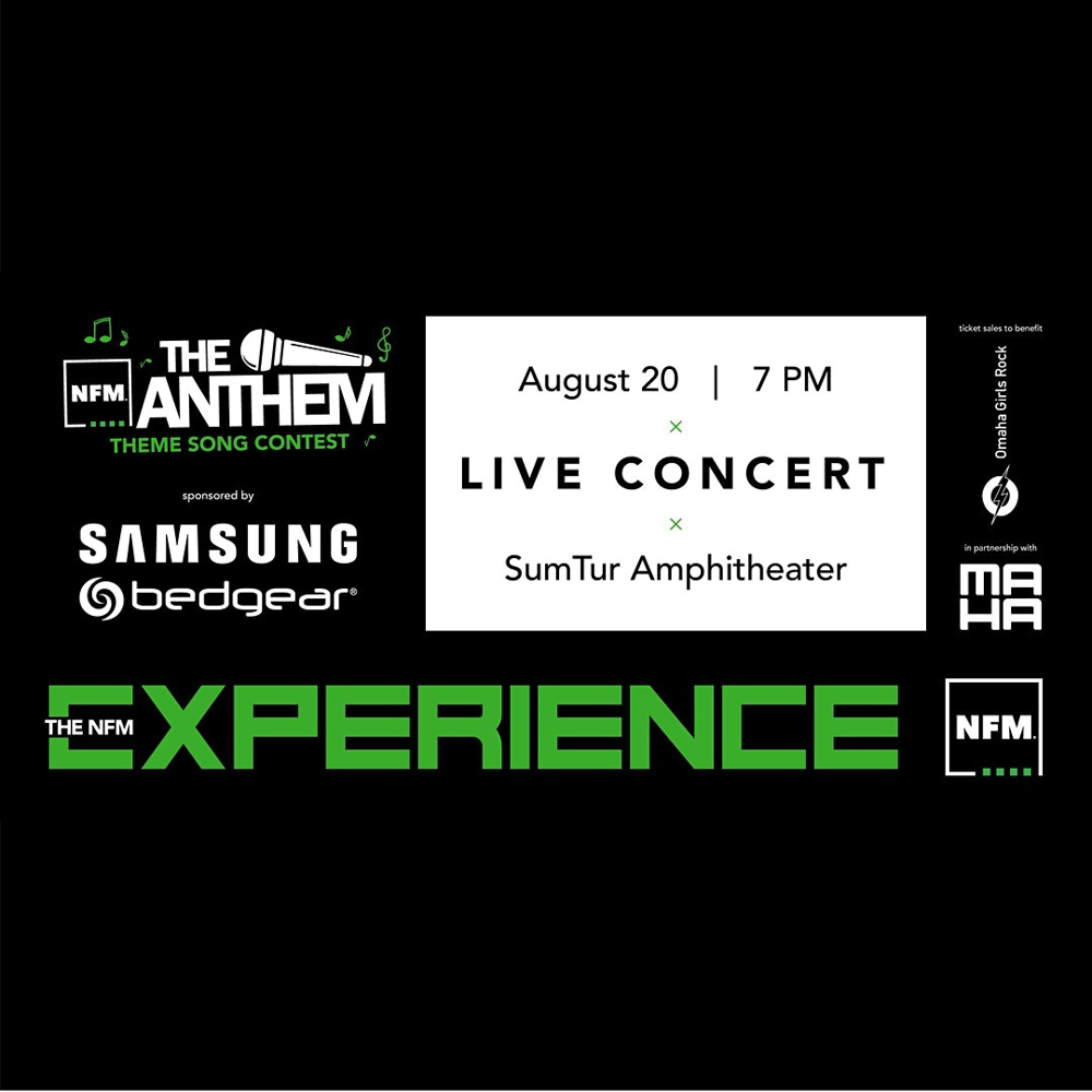 Picture of Come see our 5 finalists perform live for a chance to win NFM's 'The Anthem' theme song contest and a $25,000 GRAND PRIZE!