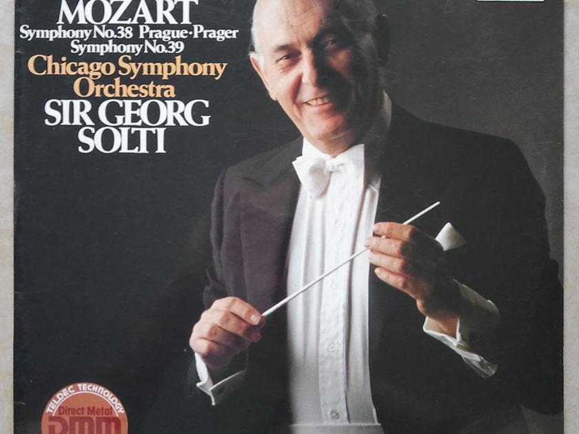 Sealed DECCA Digital   SOLTI/MOZART - Symphonies Nos. 38 & 39 / German Pressings