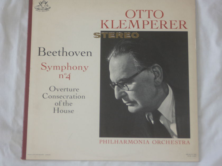 Otto Klemperer - Beethoven Symphony No. 4 Overture Consecration of the House Angel Records