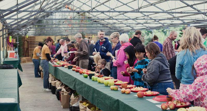 Portland Nursery's Annual Apple Tasting