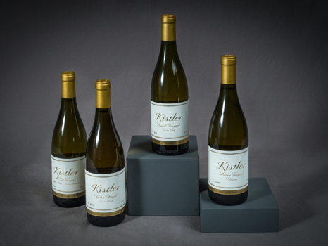 Horizontal Flight of Four 2012 Kistler Chardonnays