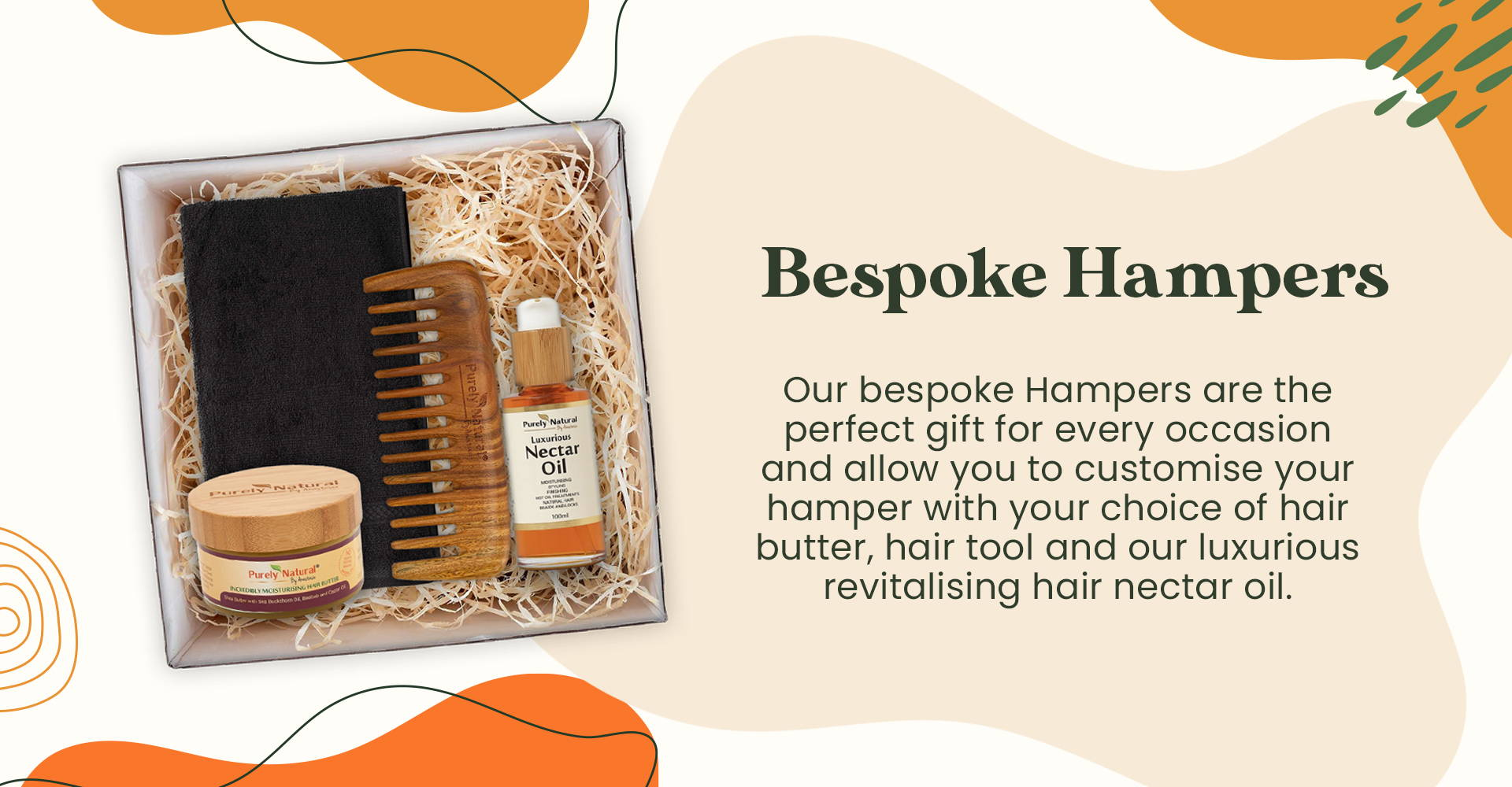 Bespoke Hampers from Purely Natural by Anastasia