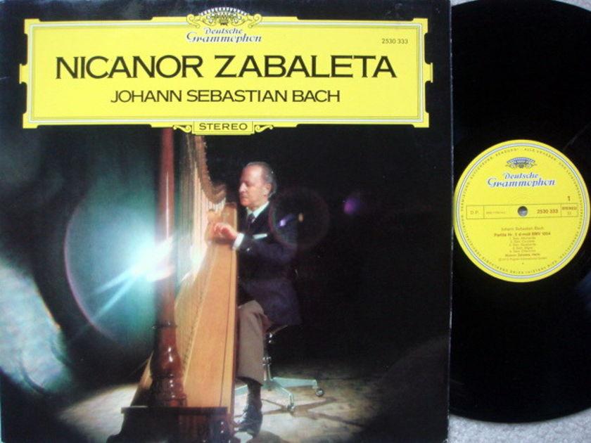 DG / ZABALETA, - Bach Partitas, MINT!