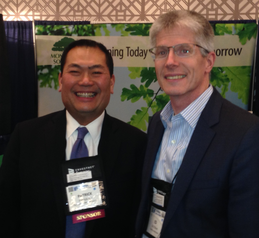 Heads of advisor technology for Pershing and Fidelity, Patrick Yip and Ed O'Brien
