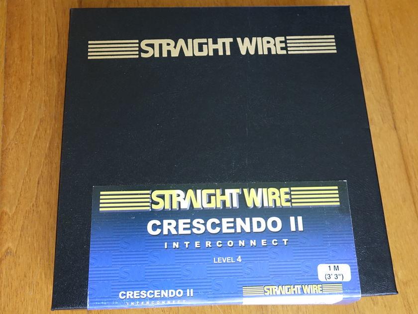Straight Wire Crescendo 2 -  1 Meter Balanced Interconnects