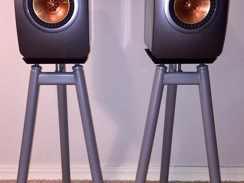 KEF LS50 Titanium Grey  New condition!