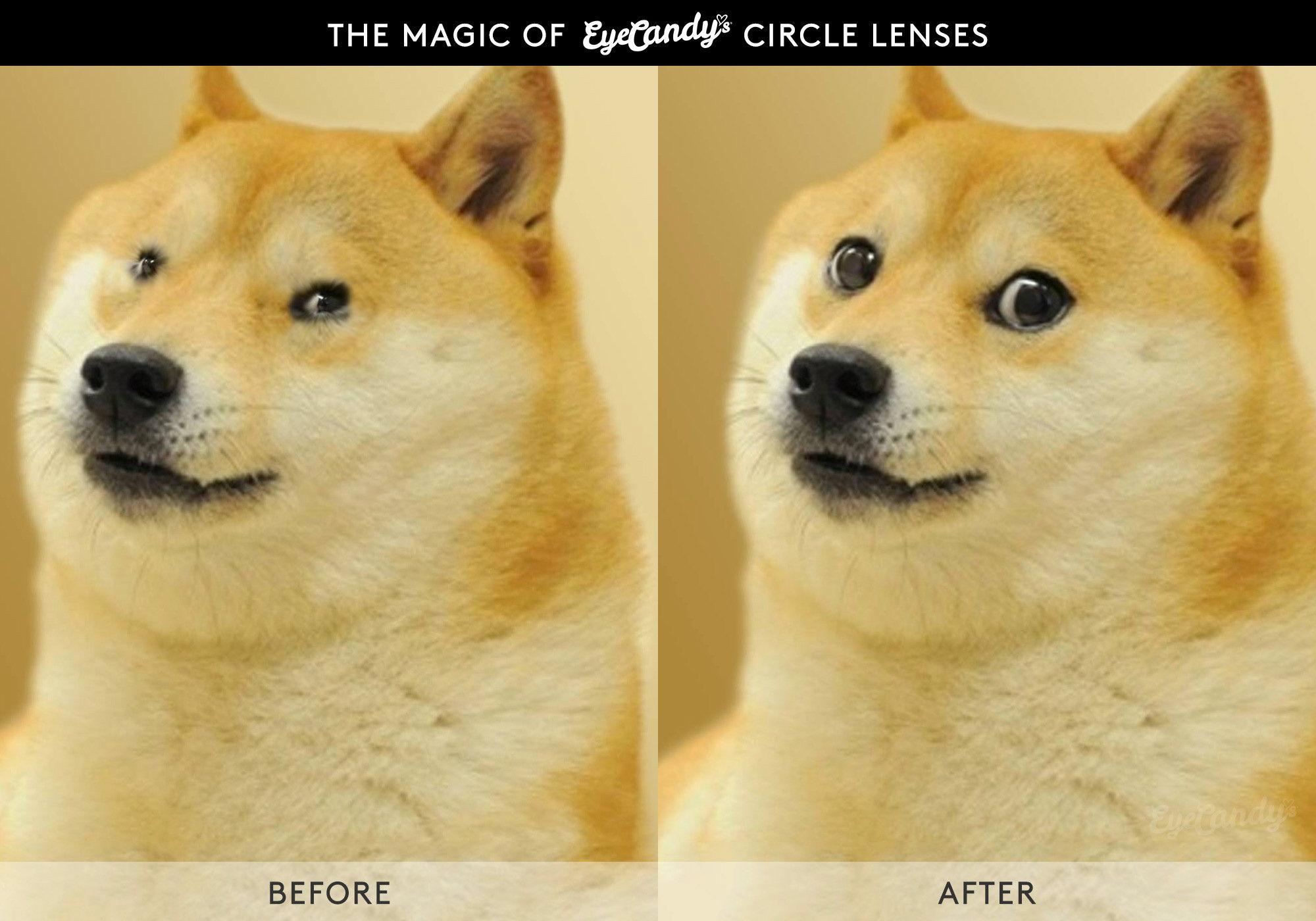 The magic of circle lenses!