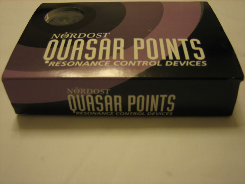 Nordost Quasar Points Resonance Control Devices