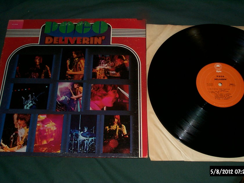 Poco - Deliverin' LP NM