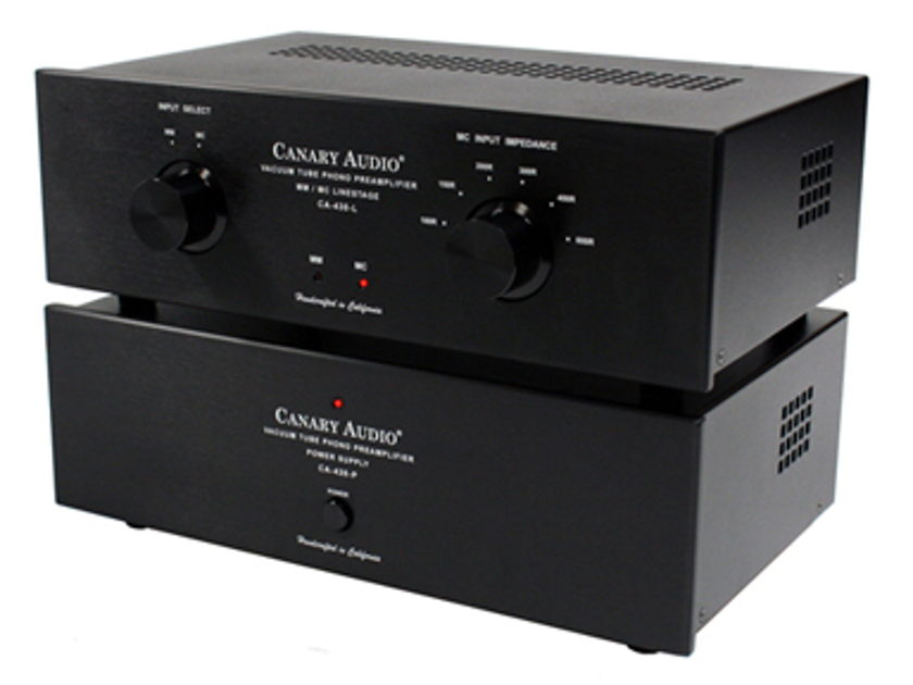 Canary Audio CA-430 MK-II MM/MC PHONO PREAMPLIFIER