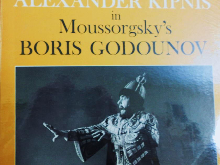 FACTORY SEALED ~ ALEXANDER KIPNIS ~  - MOUSSORGSKYS~BORIS GODOUNOV ~  RCA VIC 1396 (1969)