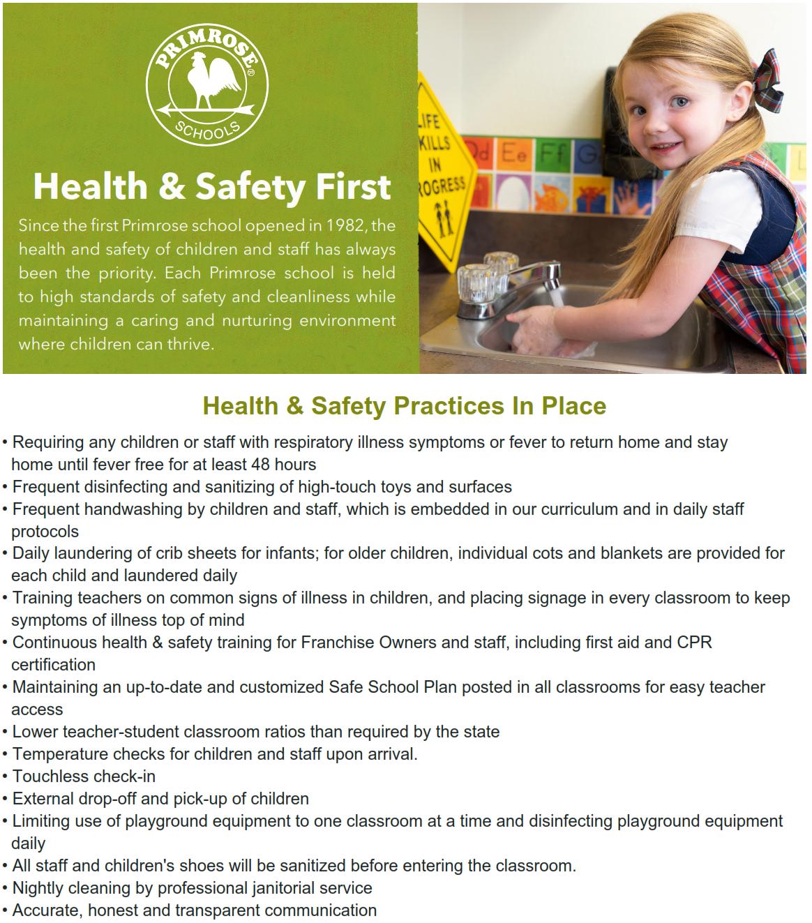 health safety covid coronavirus