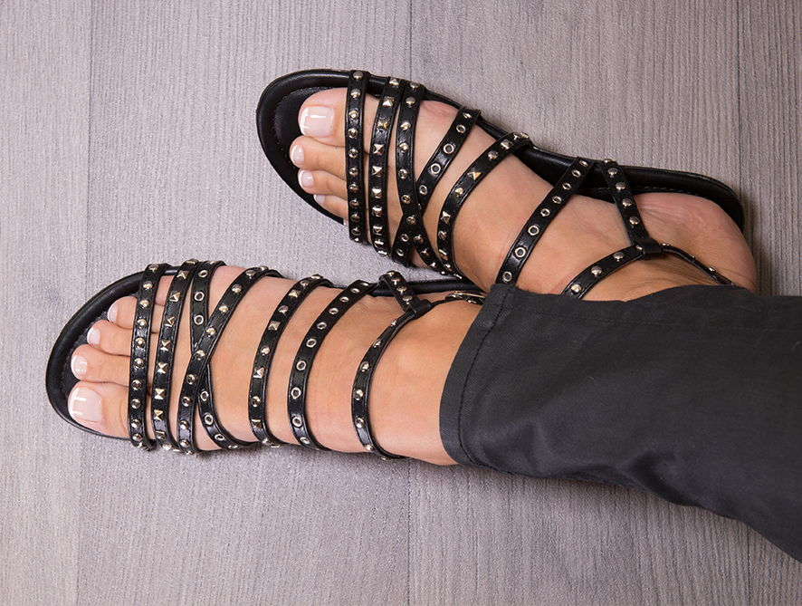 Twins Collection, Flat Sandals