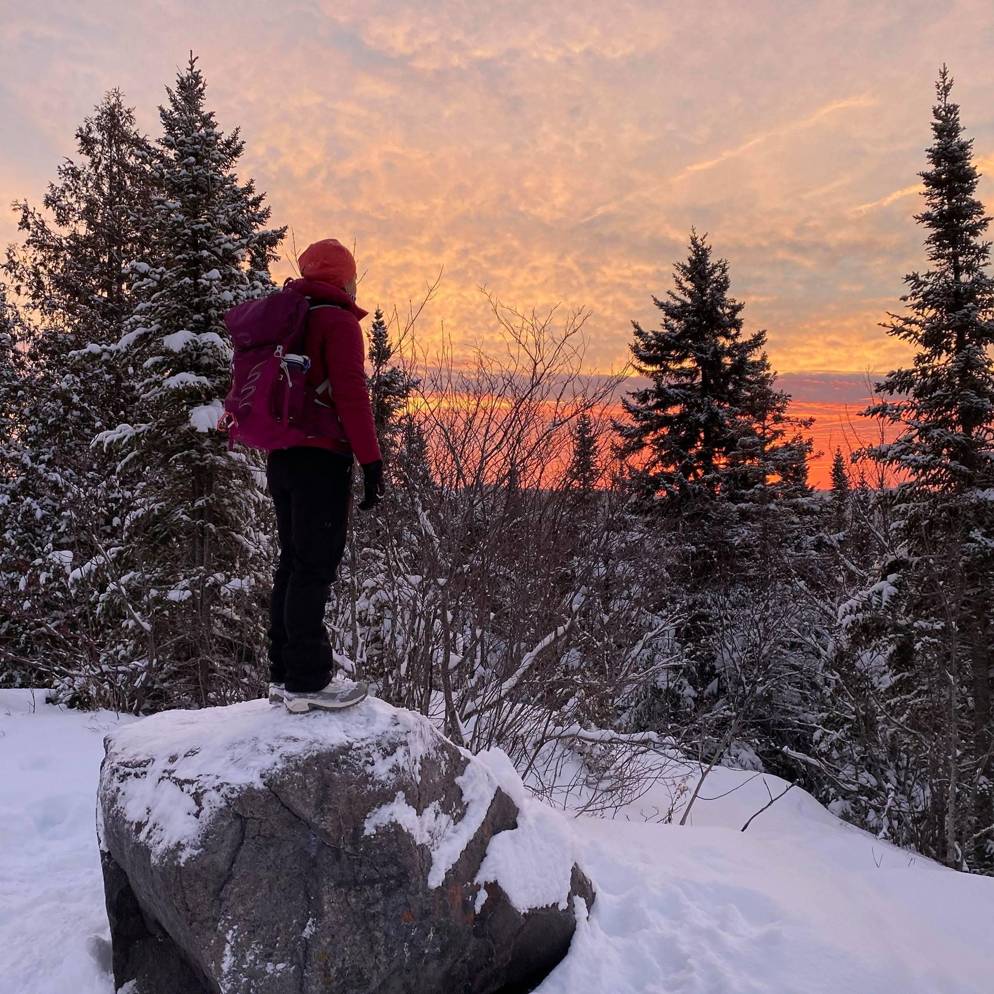 Josée Lachapelle, bloggeuse pour la compagnie de plein air, longues randonnées et camping Mount Trail.