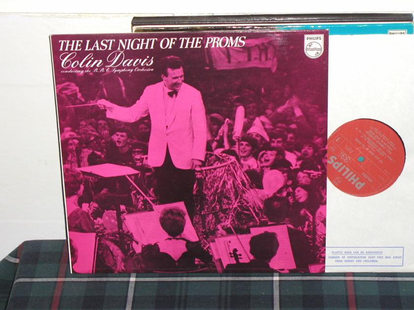 Davis/BBCSO - Proms/Elgar Philips Import LP pressing sfm 23