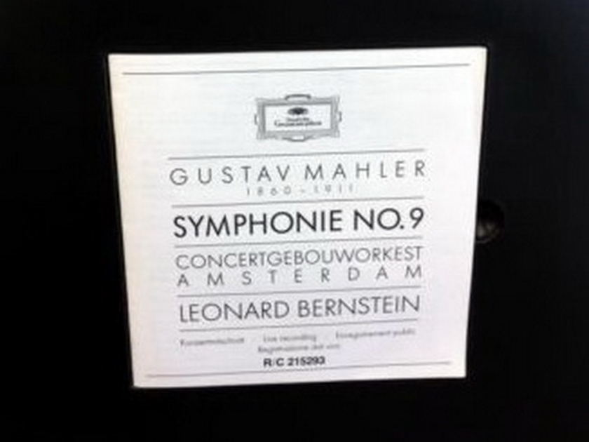 ★Audiophile★ DG Digital / BERNSTEIN-COA, - Mahler Symphony No.9, MINT, 2LP Box Set!