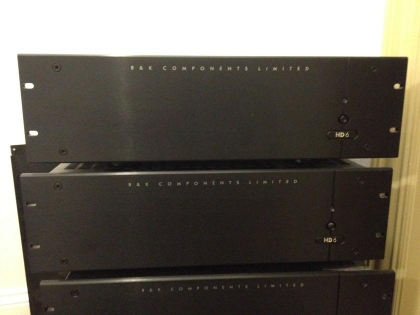 B&K HD 6 High Def. Video Matrix switch