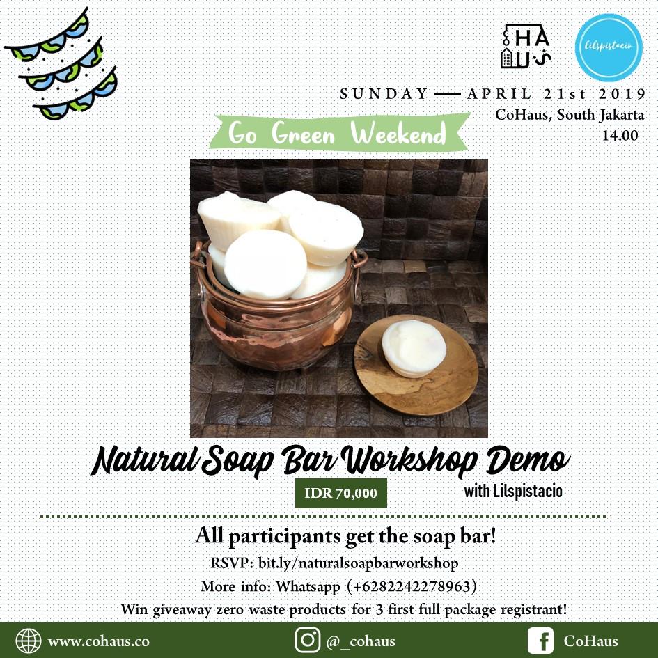 Natural Soap Bar Workshop Demo