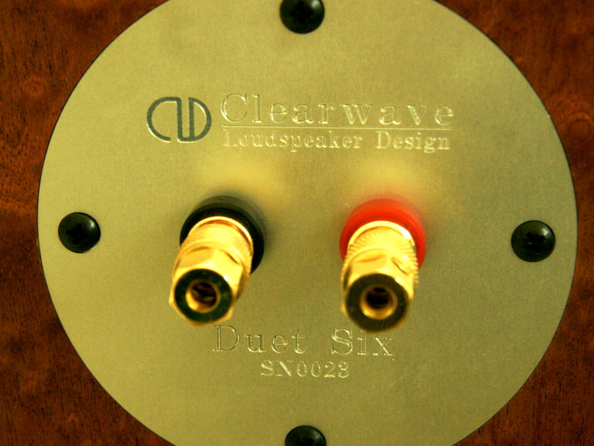 Clearwave Loudspeaker Design Duet Six (all Accuton) - end of SUMMER SALE-- pure and full sound with detail