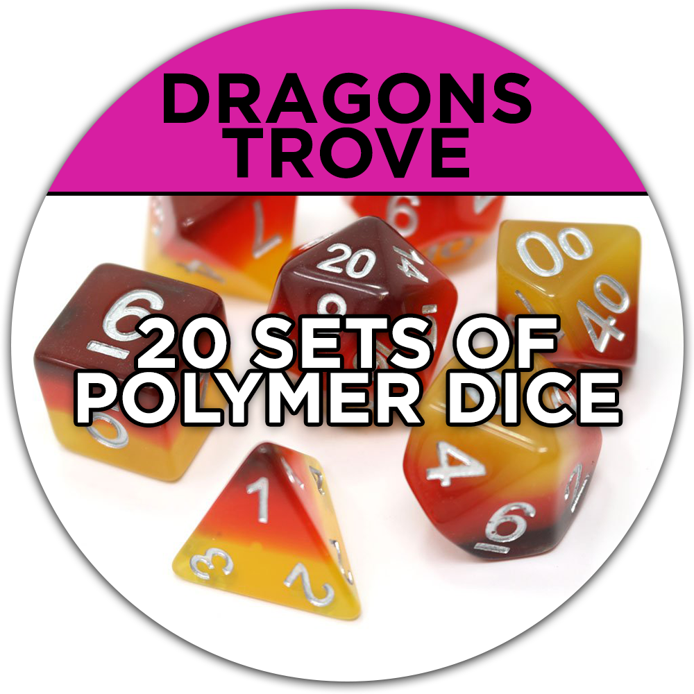20 sets of polymer dice