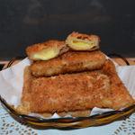 Kaassoufflé (Dutch Fried Cheese Pastry)