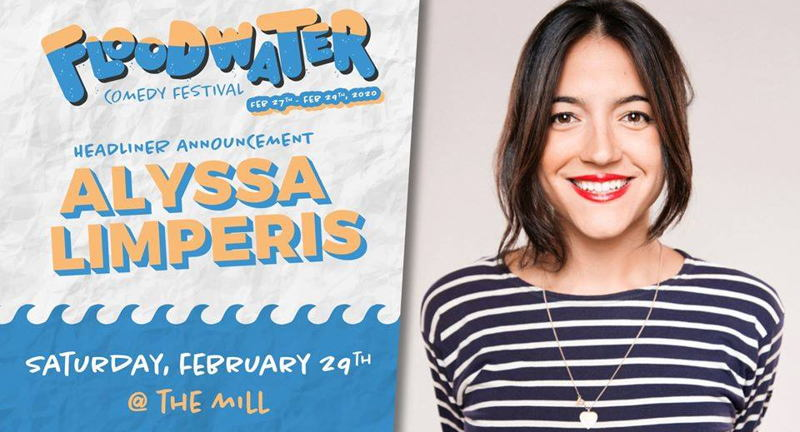Alyssa Limperis Presented By Floodwater Comedy Festival