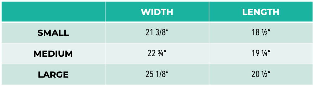 Pet It Forward Cropped Sweatshirt sizing chart