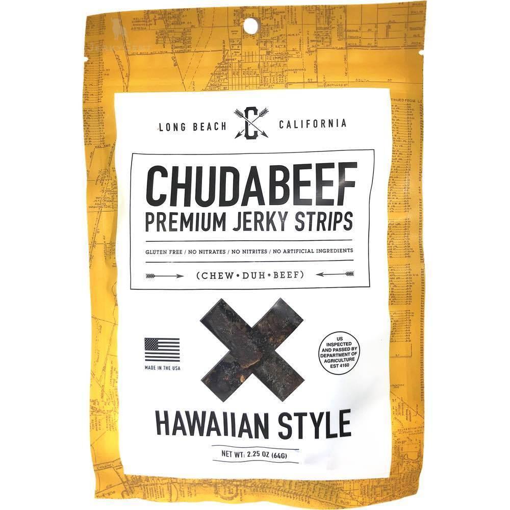 Chudabeef Hawaiian Low Fat Beef Jerky
