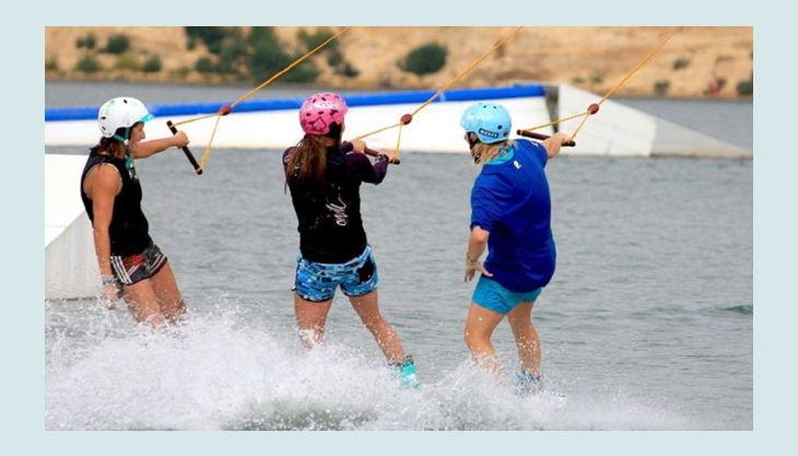wasserskipark zossen wakeboard fahren