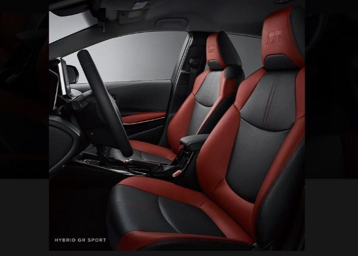 Toyota Corolla GR Ssport interior
