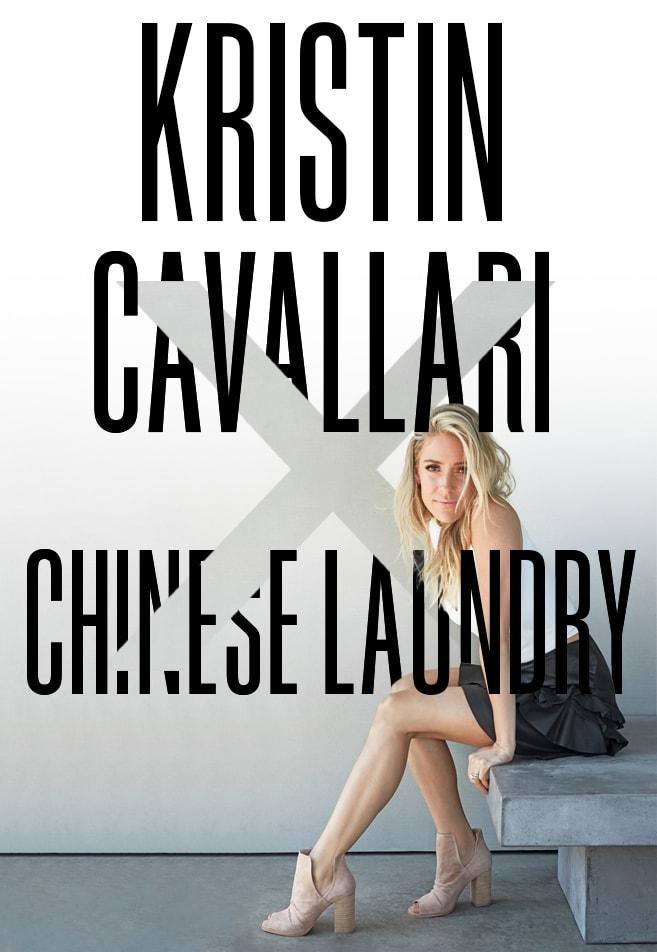 Kristin Cavallari x Chinese Laundry