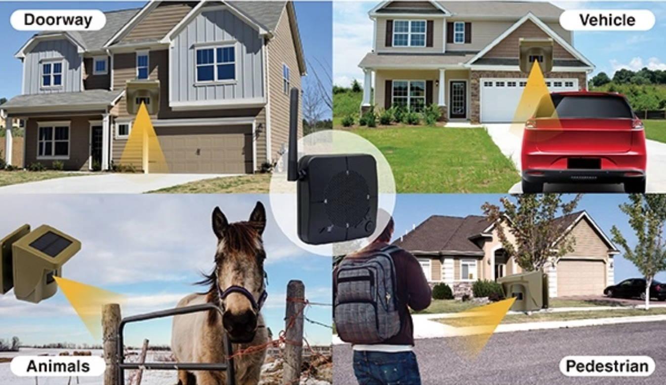 wireless driveway alarm, driveway alert, best driveway alarm, driveway alarm system,