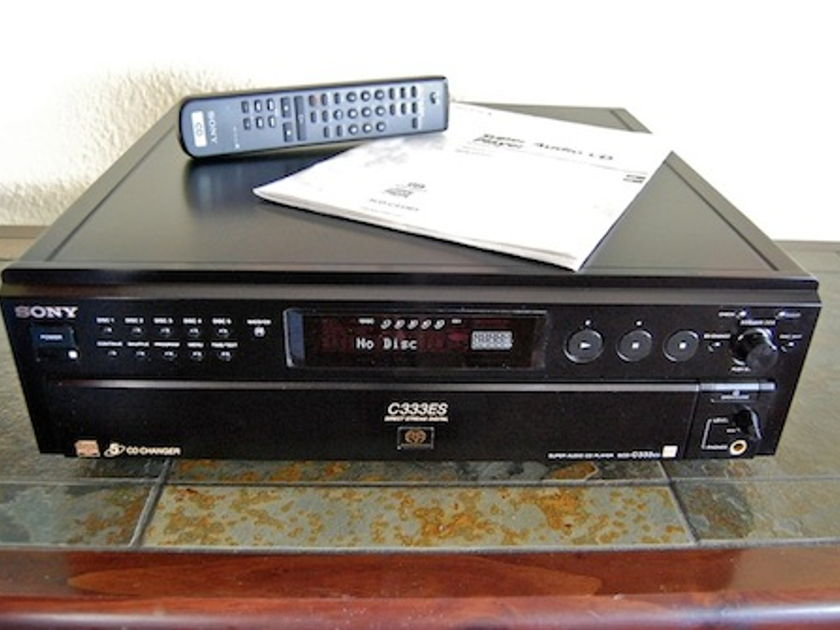 Sony C333ES 5-disc SACD player
