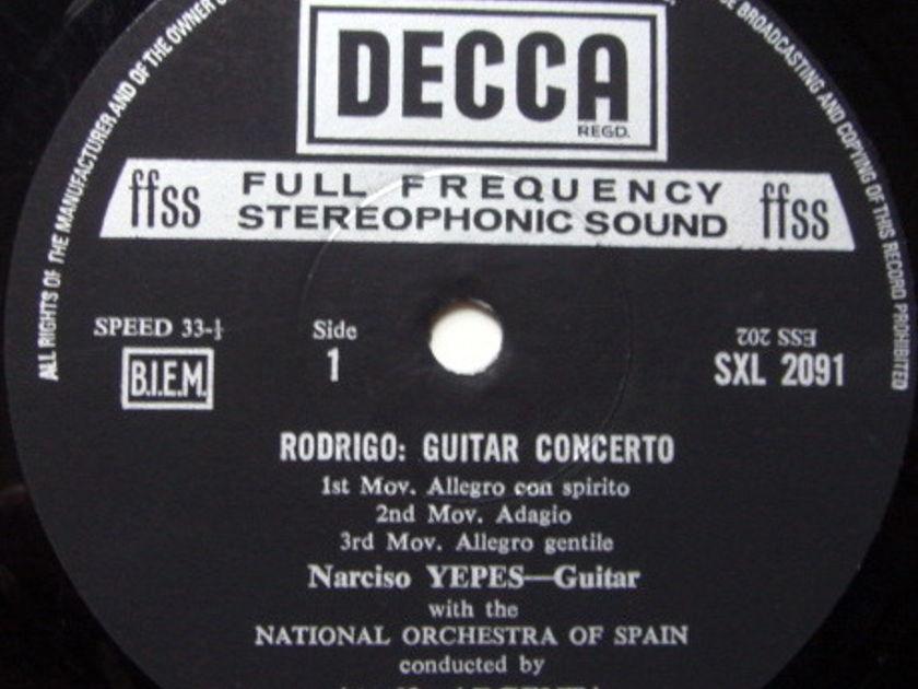 DECCA SXL-NM-ED5 / YEPES-ARGENTA, - Falla Nights in the Gardens of Spain, EX!