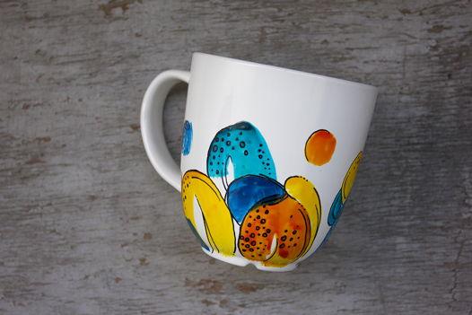 Цветная марсианская чашка