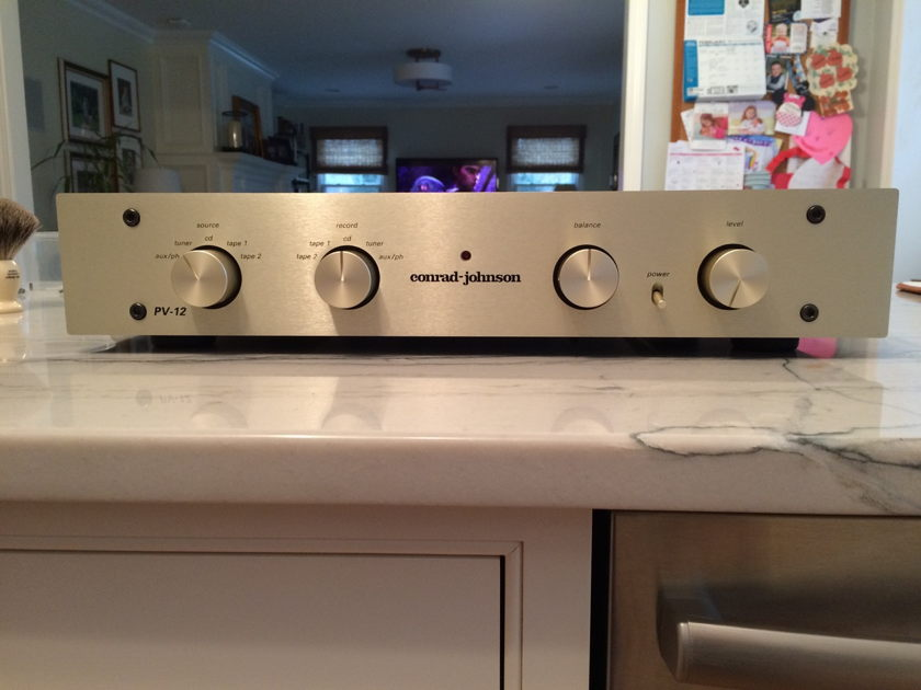 Conrad Johnson PV12 w/Phono & Teflon Cap Upgrade