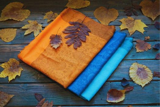 Шерстяные шали с восточными узорами