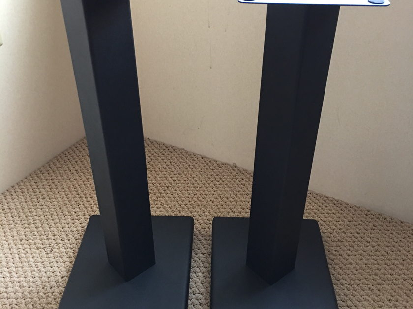 Solid Steel Speaker Stand (Pair) 24 Inch with Spikes on Base (Target HS60)