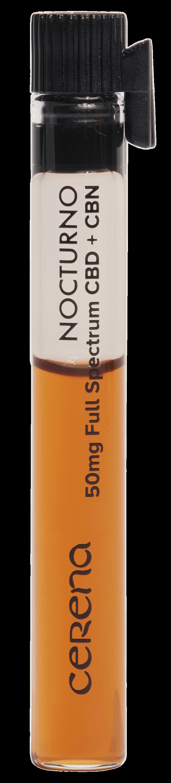 Nocturno single serving sublingual for restorative sleep