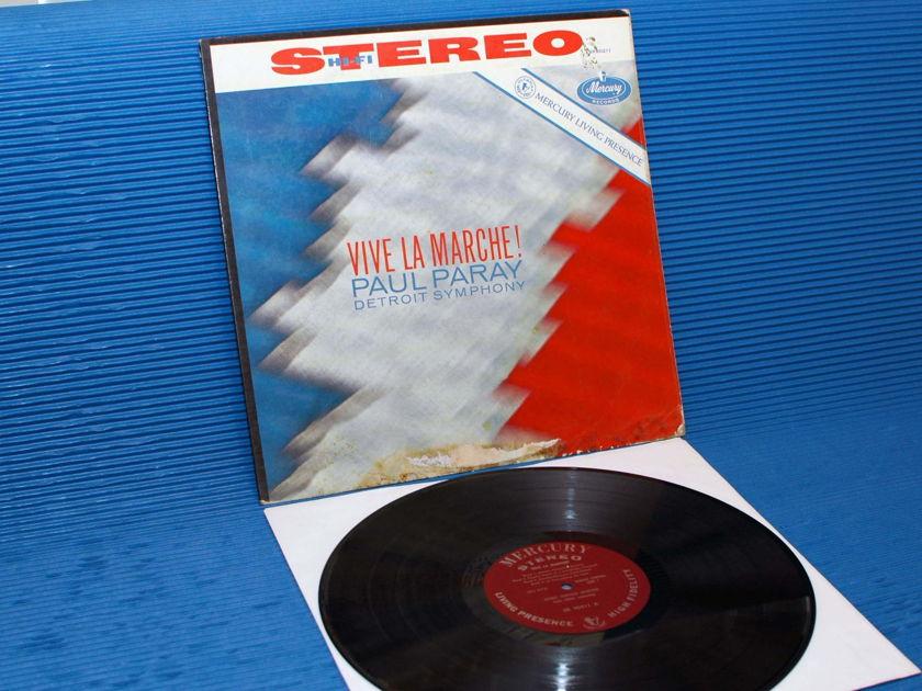 """VARIOUS / Paray  - """"Vive La Marche"""" -  Mercury Living Presence 1960 1st pressing"""
