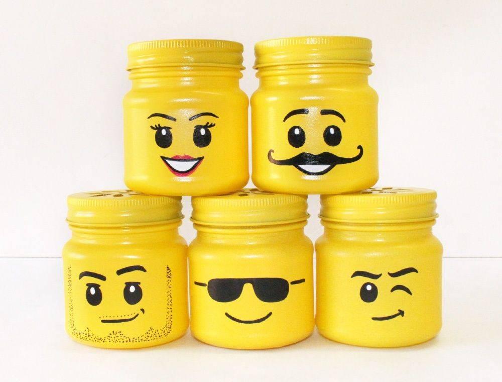 LEGO Masson Jar