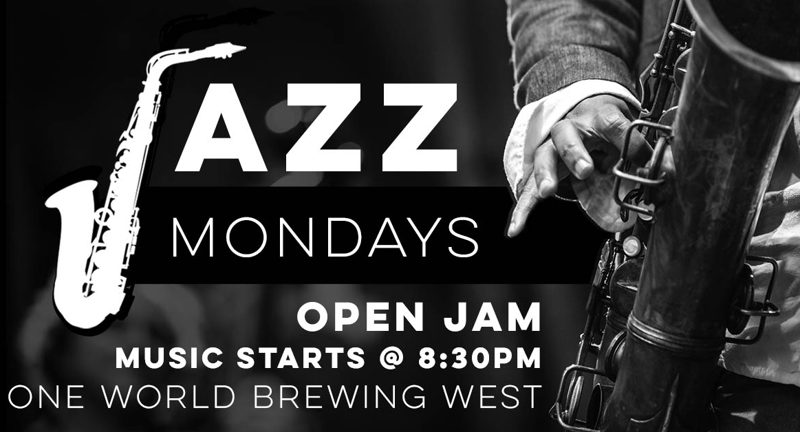 Jazz Monday at One World Brewing West | May 20 | Mountain X