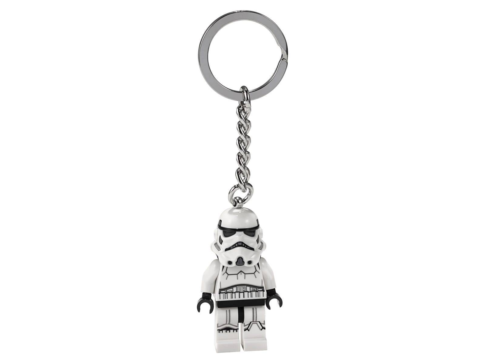 LEGO stormtrooper key chain