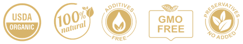 Organic Holy Basil Oil | Tulsi Oil - 100% Pure, GMO FREE, No Additives, No Preservatives