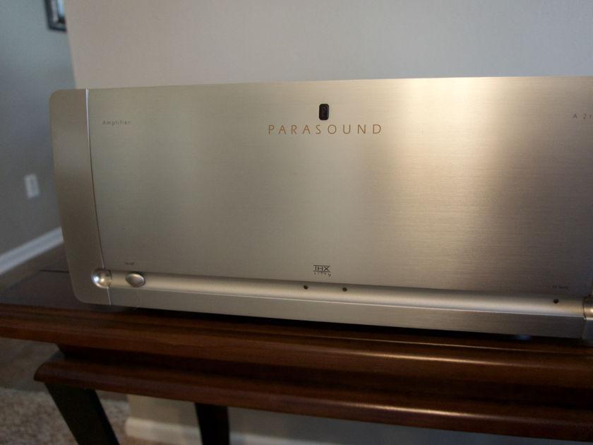 Parasound A21 Silver