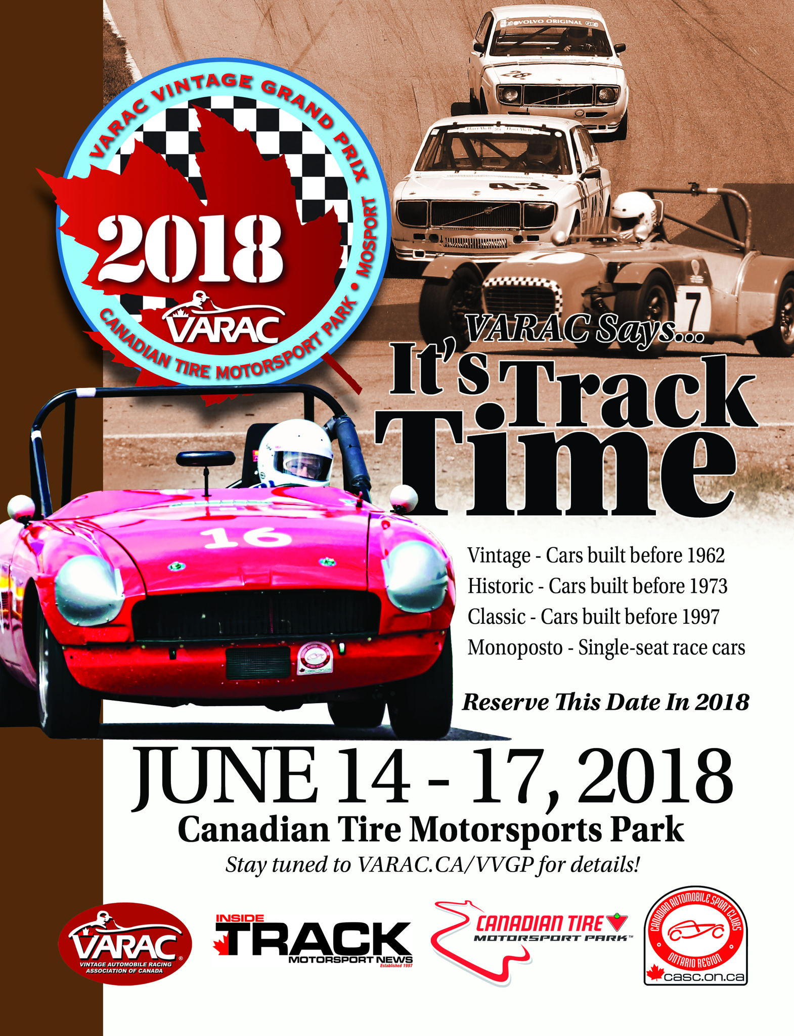 2018 VARAC Vintage Grand Prix info on Jun 14, 2018 (527302 ...