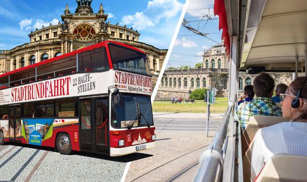 Дрезден: 1-дневный автобусный тур Hop-On-Hop-Off